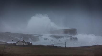 Stenness Waves 4 February 2013